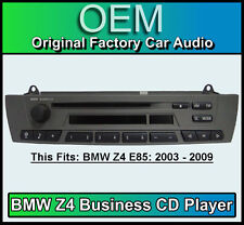 BMW Z4 CD player, BMW Business car stereo, BMW E85 radio unit