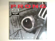 PRONG CLEANSING LP NEW REPRESS 180 GRAM RED VINYL DANZIG TOMMY VICTOR