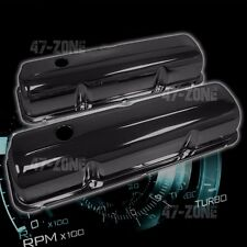 FOR 1957-76 FORD BB FE 352 390 406 427 428 VALVE COVERS - BLACK STEEL