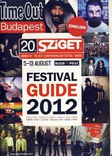SZIGET FESTIVAL 2012 - FESTIVAL GUIDE - HURTS - KORN - SNOOP DOG - SUM41
