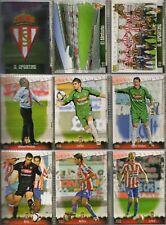 27 fichas del Sporting de Gijón Mundicromo Fichas de la liga 2008-2009
