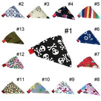 Fashion Dogs Puppy Bandana Collar Cat Pet Adjustable Neck Scarf Neckerchief XS-L
