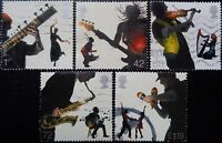 GB 2006 Europa Sounds of Britain Used Off Paper Set