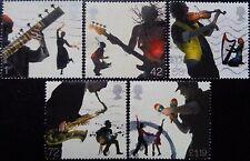 GB 2006 EUROPA suoni della Gran Bretagna USATI OFF Set di carta