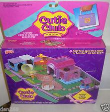 #5575 NIB Vintage Galoob Cutie Club Fashion Purse Playset with Doll Figure