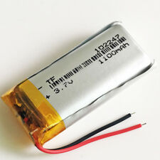 1100mAh 3.7V LiPo rechargeable Battery Cell For MP3 MP4 PSP GPS Speaker 102247