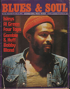 Marvin Gaye Blues & Soul Issue 123 1973  Gamble & Huff  Al Green  Matata  Reggae