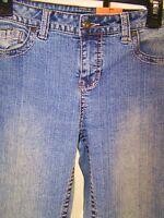 V.S.H. Jeans Blue Boot Cut Classic Five Pocket Denim Womens Sz 6 Small Petite 6P