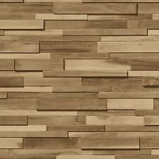 En bois ardoise papier peint rouleaux brown-Muriva J45307-neuf