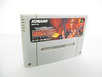 Super Famicom CONTRA III The Alien Wars Spirits Nintendo Cartridge Only sfc