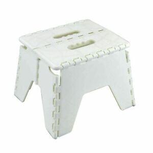 Foldable Plastic Multipurpose Folding Step Stool Sturdy Seat Home Kitchen DIY