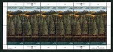 Vereinte Nationen UNO Genf 165 - 166 KB gestempelt Kleinbogen Rettet den Wald