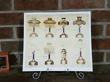 Coleman Lantern Lamp Identification Print Poster