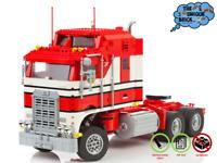 1978er Kenworth Truck - PDF-Bauanleitung- Kompatibel zu LEGO [10240 75059 70810]
