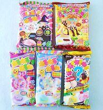New Kracie 5 PCS SET DIY Japanese Candy Making Kit Popin Cookin Neruneru Gummy