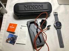 Nixon The Mission Ss Android Smart Watch, iPhone, Android