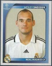 PANINI UEFA CHAMPIONS LEAGUE 2008-09- #444-REAL MADRID-WESLEY SNEIJDER
