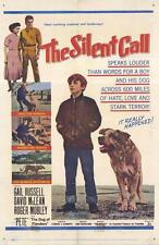 THE SILENT CALL Movie POSTER 27x40 Roger Mobley David McLean Gail Russell Joe