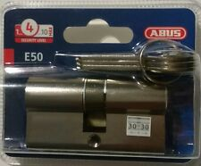 CYLINDRE CANON BARILLET VEROU ABUS 30 mm / 30 mm 3 CLES  4003318537479