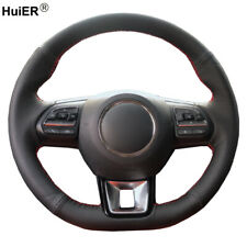 Hand Sewing Car Steering Wheel Cover For MG ZS HS 2017-2020 For MG GS 2016-2020