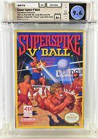 SUPER SPIKE V'BALL Volleyball Nintendo NES Brand New Factory Sealed WATA 9.6 A+