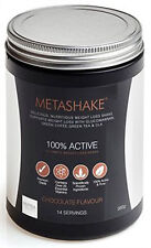 Metashake Weight Loss Shake 560g (14 Servings), 100% ACTIVE MEAL REPLACEMENT