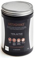 Metashake sacudidas de la pérdida de peso 560g (14 porciones), el 100% de reemplazo de comidas activo