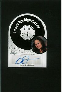 Kara DioGuardi  Auto DIE-CUT Pop Century Autograph BRITNEY SPEARS WRITER PRODUCE