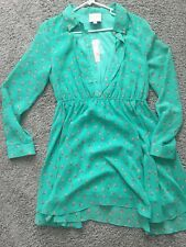 Romeo And Juliet Couture Mint Green Dress Flirty Fun