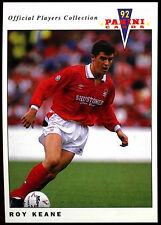 Roy Keane Nottingham Forest #161 Panini Football 1992 Card (C358)