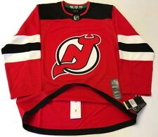 NEW JERSEY DEVILS  size 52 = sz Large - ADIDAS HOCKEY JERSEY Climalite Authentic