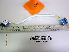 LG 50LS4000 LVDS Cable PN: EAD62047007 #C:41 3YS1120727(400)