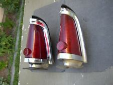 1964 Lincoln Continental Tail Lights, Used