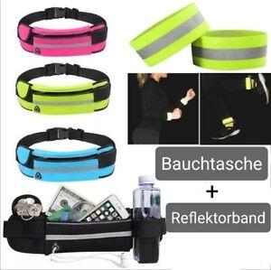 Bauchtasche Gürteltasche Lauftasche Joggingtasche Sport Handytasche Fitness