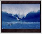 "WAIMEA BAY, NORTH SHORE OAHU 1992 30 FOOT WAVE GICLEE PHOTO ON 8X10"" MATT"