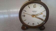 Vecchio orologio sveglia da comodino marca Roamer swiss made anni 50