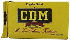CDM Coffee & Chicory Regular Grind, 13oz bags, (4 Pack)