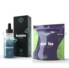 TLC iaso tea instant & Resolution Drops Aka LIPO In a Bottle. The Power Kit🔥🔥