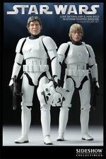 Sideshow Star Wars Sdcc Exclusivo Luke Skywalker Han Solo Stormtrooper Disguise