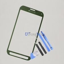 Green Origin Front Screen Glass For Samsung Galaxy S5 Active G870A Replacement