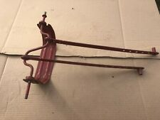COMPLETE DIPSIDE PEDAL CAR REAR END, PEDAL STRAPS, AXLES, EX, NICE, LQQK!!