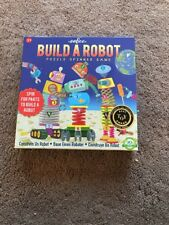 EEBOO Build A Robot Puzzle Spinner Game NIB Age 3+