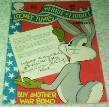 Looney Tunes 45, (FN+ 6.5) 1945 Mary Jane & Sniffles!  40% off Guide