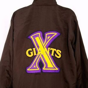 Cuban X Giants Jacket Vintage 90s African American Negro League Goretex 2XL