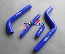 Silicone Radiator Hose for Yamaha YZ125 96-01 1996 1997 1998 1999 2000 2001 BLUE