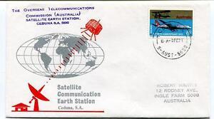 1971 Satellite Communicaition Earth Station Ceduna S.A. Overseas Australia SAT