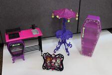Monstruo alto muñeca casa muebles De Horno De Cocina Mesa Armario Foto paraguas Lote