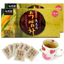 """NOKCHAWON"" herbal Healthy Corn Silk Tea 200 Tea bags (100T x 2 Box)"