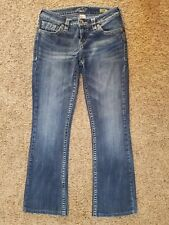 SILVER Aiko BootCut womens jeans - size 27 --- 26 x 28 - GREAT condition