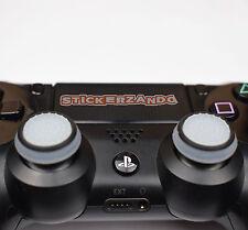 2 x klar schwarz Joystick Thumbstick Kappenl leuchtet PS4 PS3 XBOX Controller